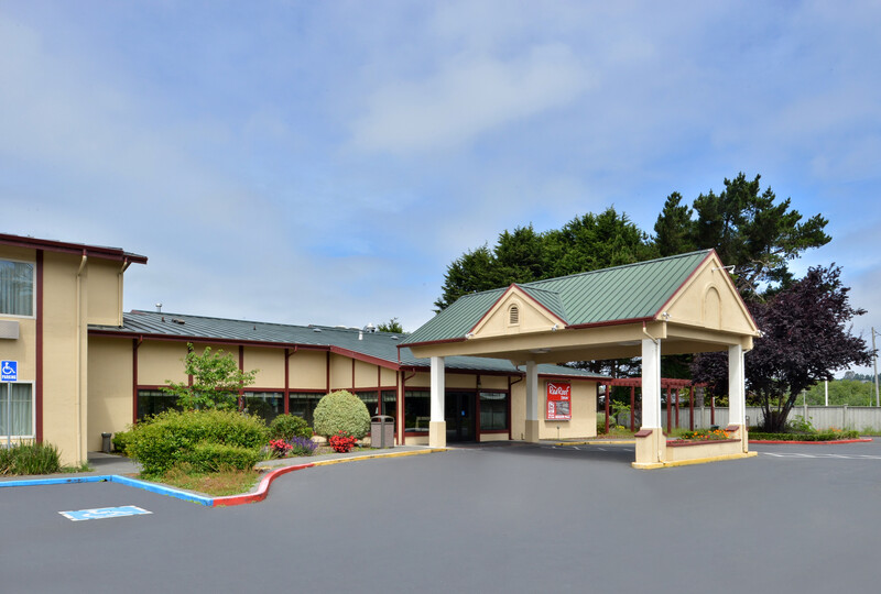 Red Roof Inn Arcata Exterior Property Image