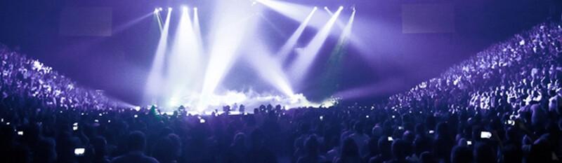 concert at arena