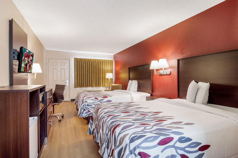 Red Roof Inn Acworth Double Bed Room Image