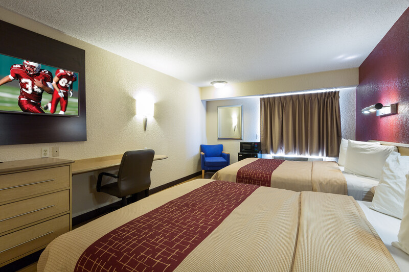 Red Roof Inn Houston - Westchase Deluxe Double Room