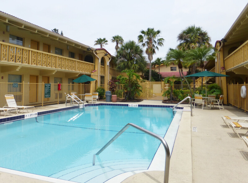 outdoor pool at Red Roof Inn Tampa Bay - St Petersburg