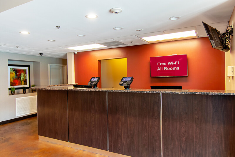 Red Roof Inn Locust Grove Front Desk and Lobby Image