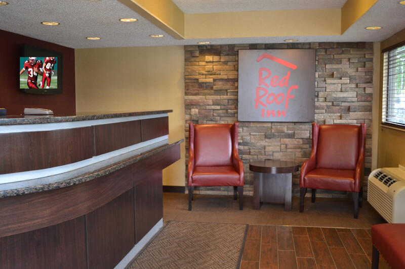 Red Roof Inn Elkhart Front Desk and Lobby Image Details