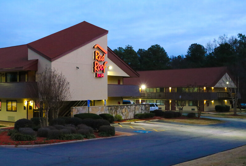 Red Roof Inn Greenville Property Exterior Image