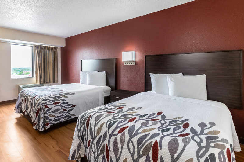 Red Roof Inn El Paso West Double Bed Room Image