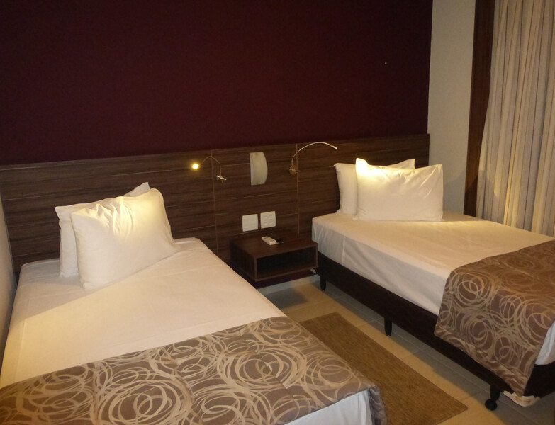 Red Roof Inn Dutra Aeroporto Double Bed Room Image