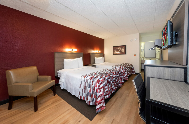 Red Roof Inn Tinton Falls - Jersey Shore Double Bed Room