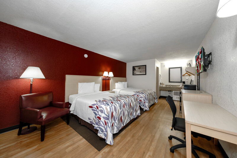 Red Roof Inn Ft Myers Double Bed Room Image