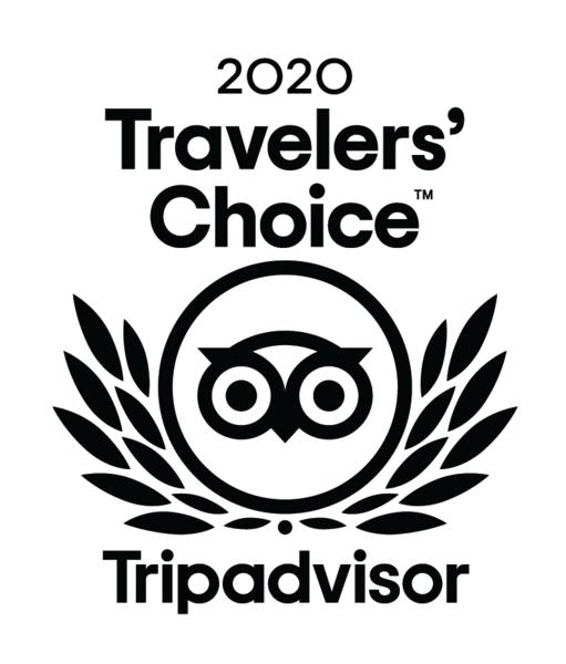TripAdvisor 2020 Travelers' Choice