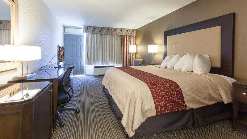 Red Roof Inn & Suites DeKalb Single King Room Image