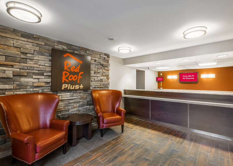 Red Roof PLUS+ South Deerfield - Amherst Front Desk and Lobby Image