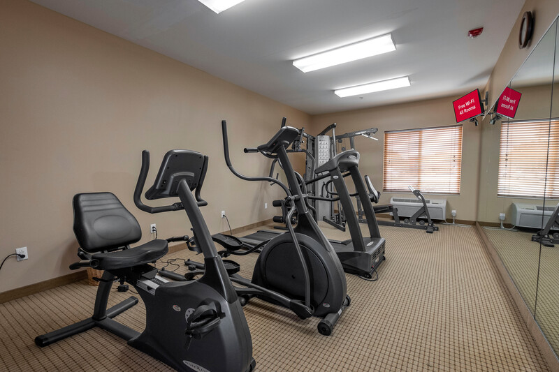 Red Roof Inn Houma Onsite Fitness Facility Image