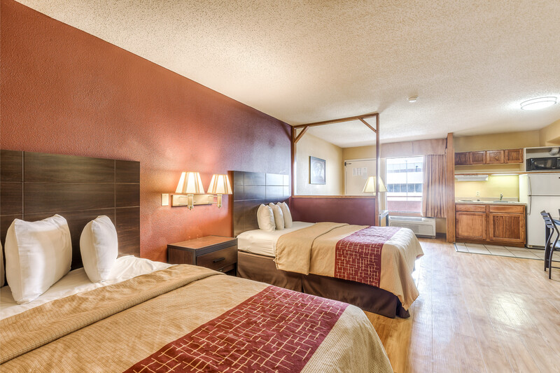 Red Roof Inn Amarillo West Double Bed Suite Room Details