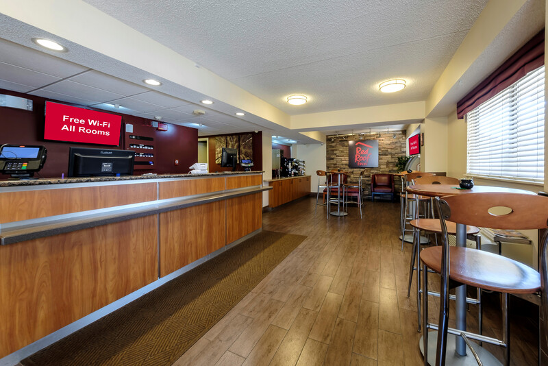 Red Roof Inn Dallas - DFW Airport North Front Desk and Lobby