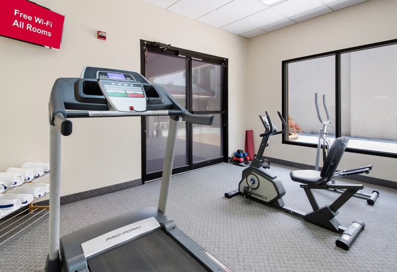 Red Roof Inn & Suites Commerce Onsite Fitness Facility