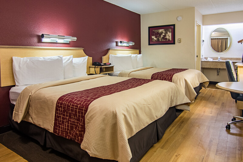 Red Roof Inn Detroit - Southfield Deluxe Double Room