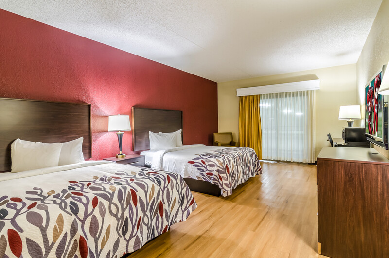 Red Roof Inn & Conference Center Wichita Airport Double Bed