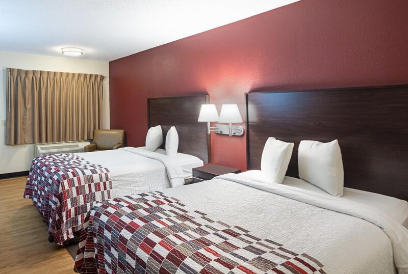 Red Roof Inn Dayton - Fairborn/Nutter Center Deluxe Double Room