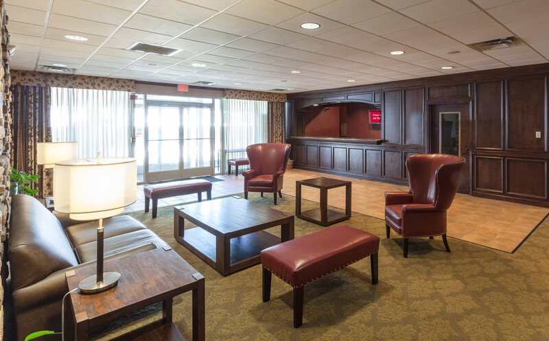 Red Roof Inn & Suites DeKalb Lobby and Sitting Area