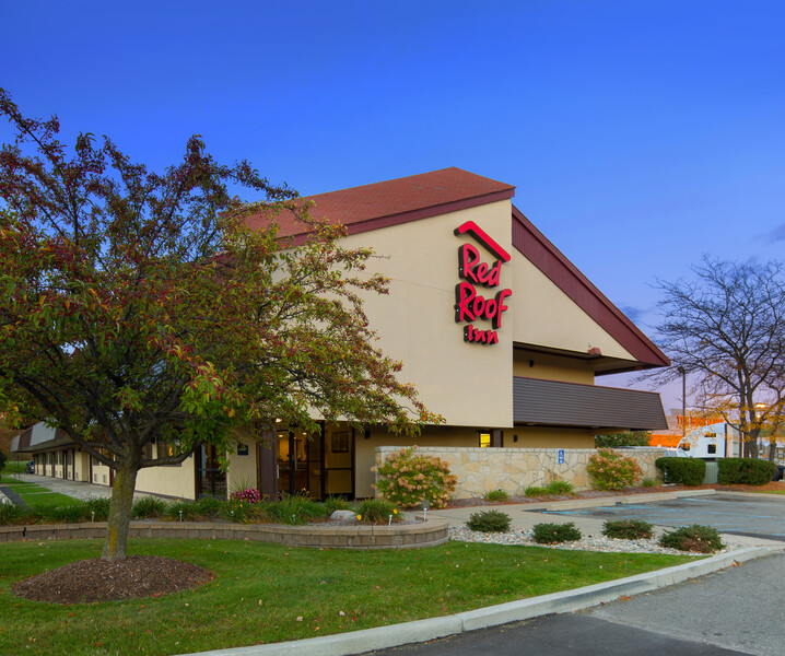 Red Roof Inn Detroit Metro Airport - Taylor Property Exterior Day Image