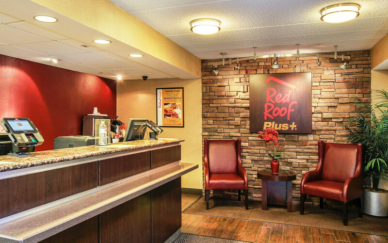 Red Roof PLUS+ Atlanta - Buckhead Front Desk and Lobby