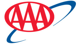Triple A, AAA logo for company approval of this property