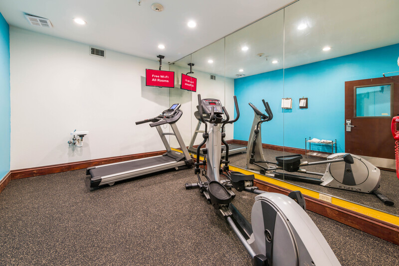 Red Roof Inn & Suites Monee Onsite Fitness Facility