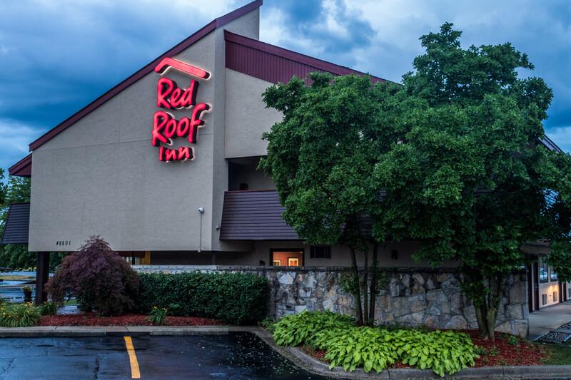 Red Roof Inn Detroit Metro Airport - Belleville exterior