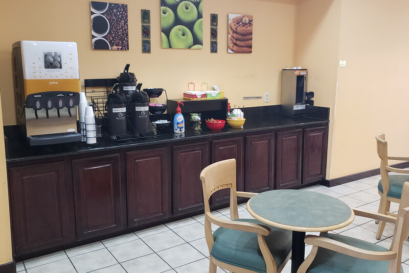 Red Roof Inn Terrell Free Coffee in the Lobby Image